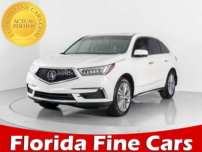 Used ACURA MDX 2017 WEST PALM TECHNOLOGY PACKAGE