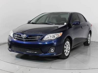 Used TOYOTA COROLLA 2013 HOLLYWOOD Le