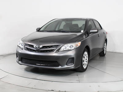 Used TOYOTA COROLLA 2012 HOLLYWOOD Le