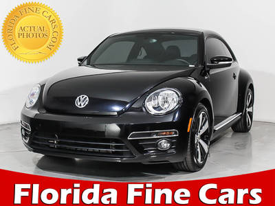 Used VOLKSWAGEN BEETLE 2015 HOLLYWOOD R-LINE