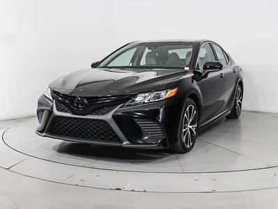 Used TOYOTA CAMRY 2018 WEST PALM Se