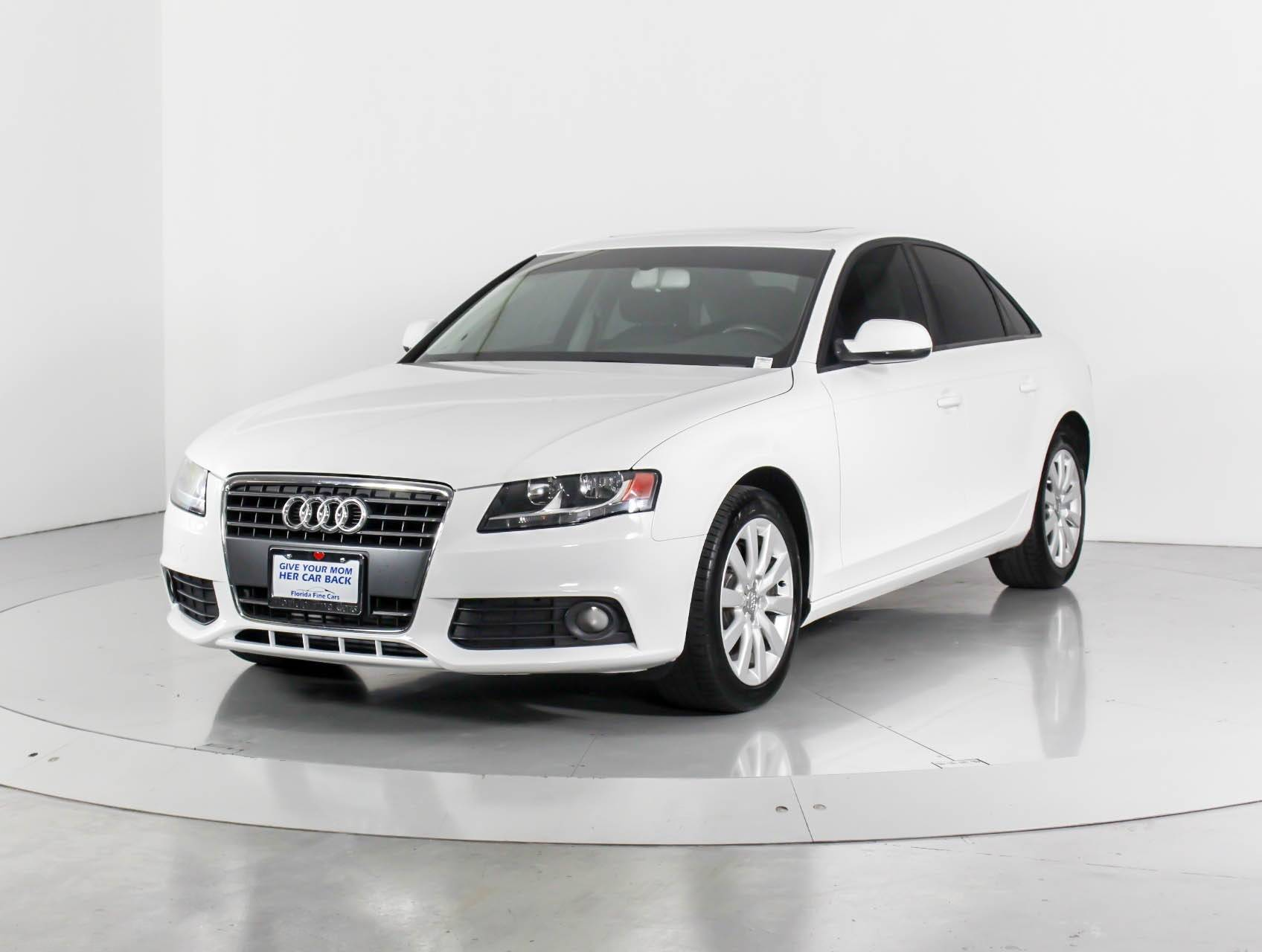used 2012 audi a4 premium sedan for sale in west palm, fl | 98851 | florida  fine cars