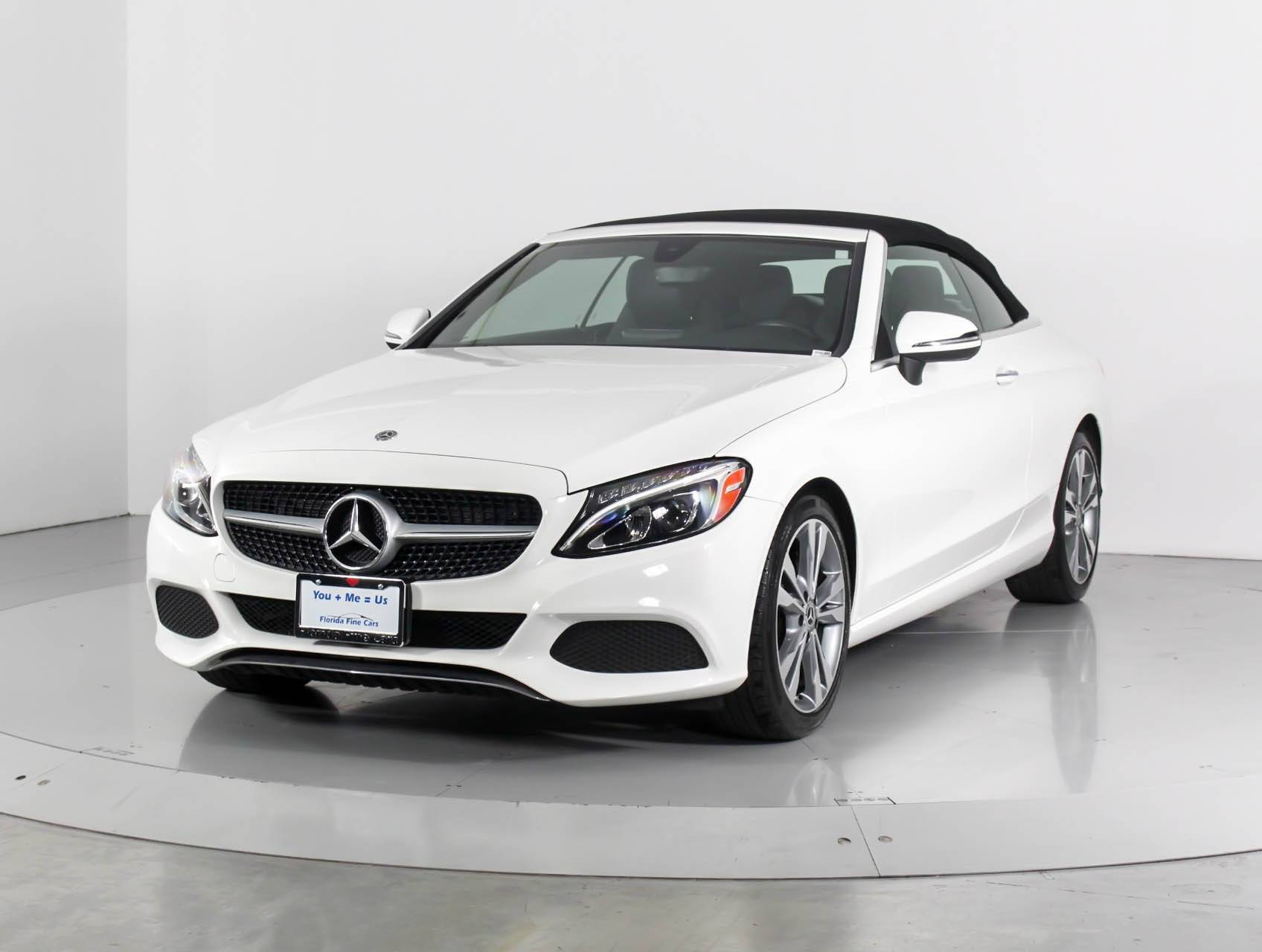 Used 2018 Mercedes Benz C Cl C300 Convertible For In Miami Fl 98875 Florida Fine Cars