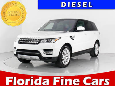 Used LAND-ROVER RANGE-ROVER-SPORT 2016 WEST PALM Hse Diesel