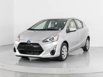 Used TOYOTA PRIUS-C 2015 WEST PALM Two