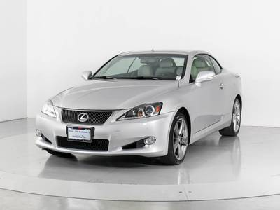 Used LEXUS IS-250C 2012 WEST PALM