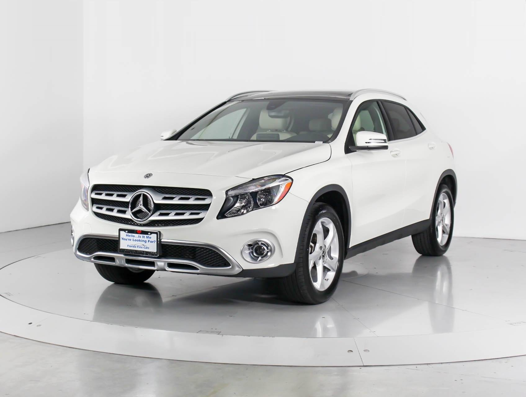 Used 2018 Mercedes Benz Gla Cl Gla250 Suv For In West Palm Fl 98948 Florida Fine Cars