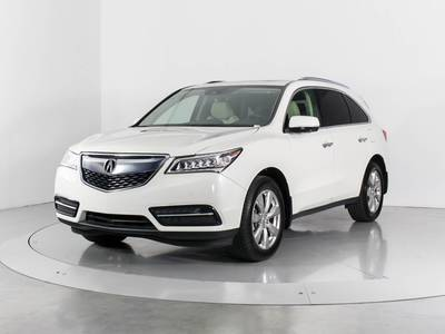 Used ACURA MDX 2016 WEST PALM Sh-Awd Advance Pkg