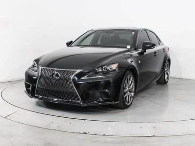 Used LEXUS IS-250 2015 MIAMI F Sport