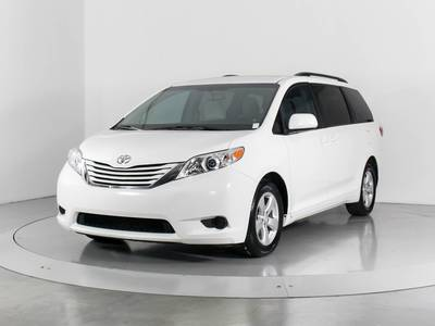 Used TOYOTA SIENNA 2015 WEST PALM Le