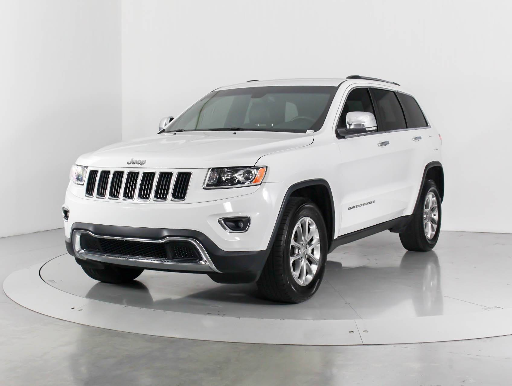 Used 2015 Jeep Grand Cherokee Limited Suv For Sale In Miami Fl 99133 Florida Fine Cars
