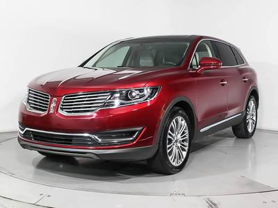Used LINCOLN MKX 2018 MIAMI RESERVE