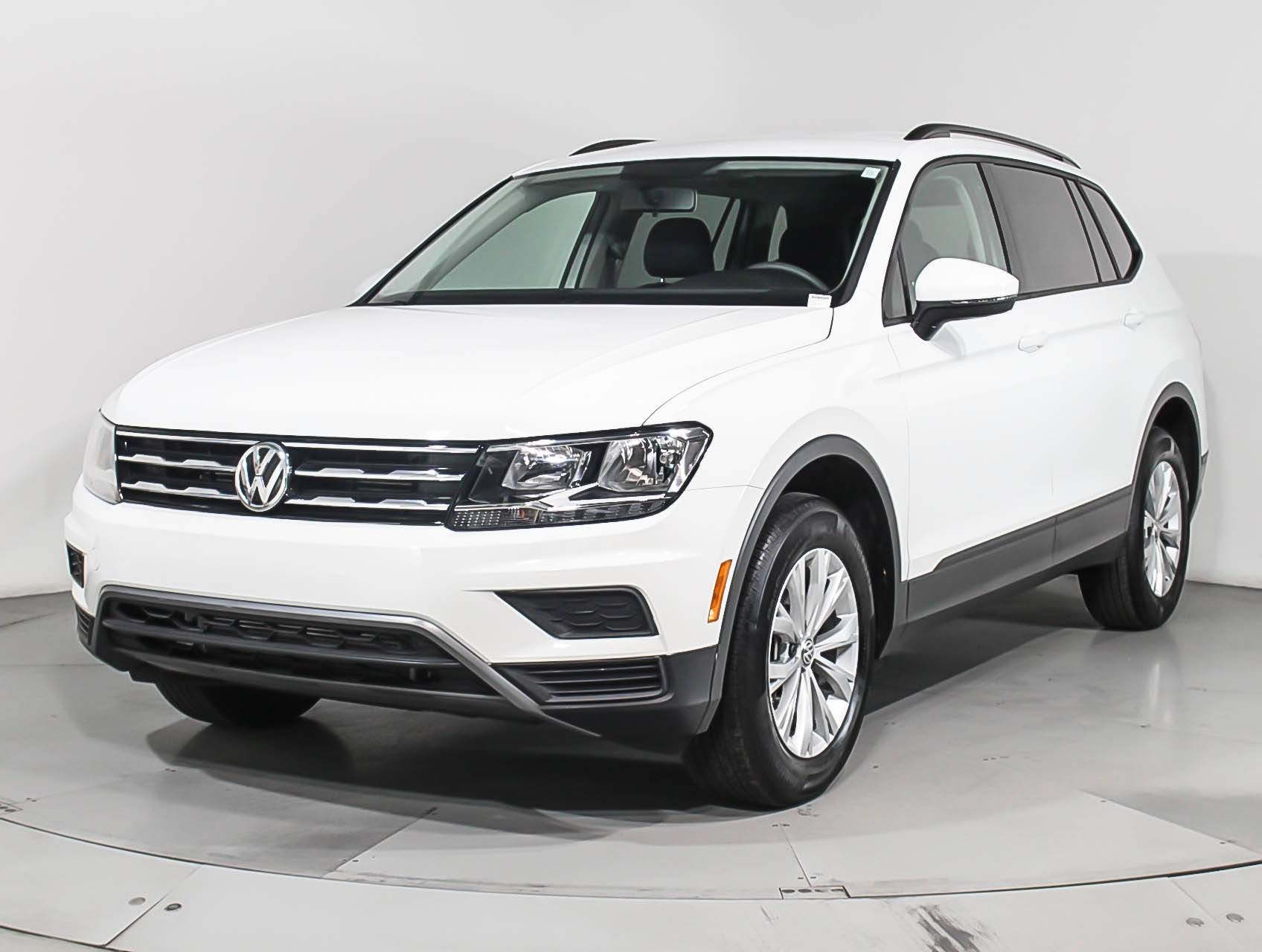 Used 2018 VOLKSWAGEN TIGUAN S SUV for sale in WEST PALM, FL