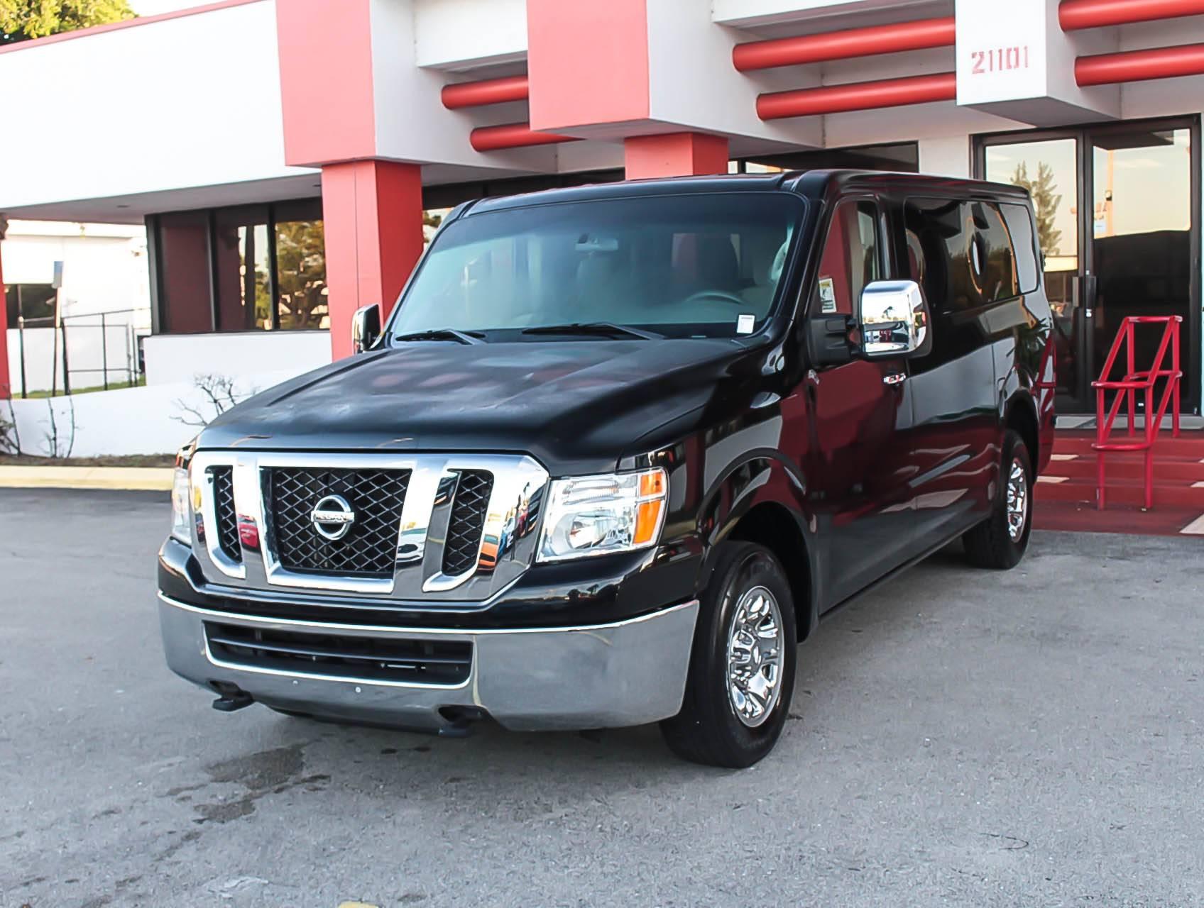 2016 Nissan Nv Passenger >> Used 2016 Nissan Nv3500 Sv Passenger Van For Sale In Margate