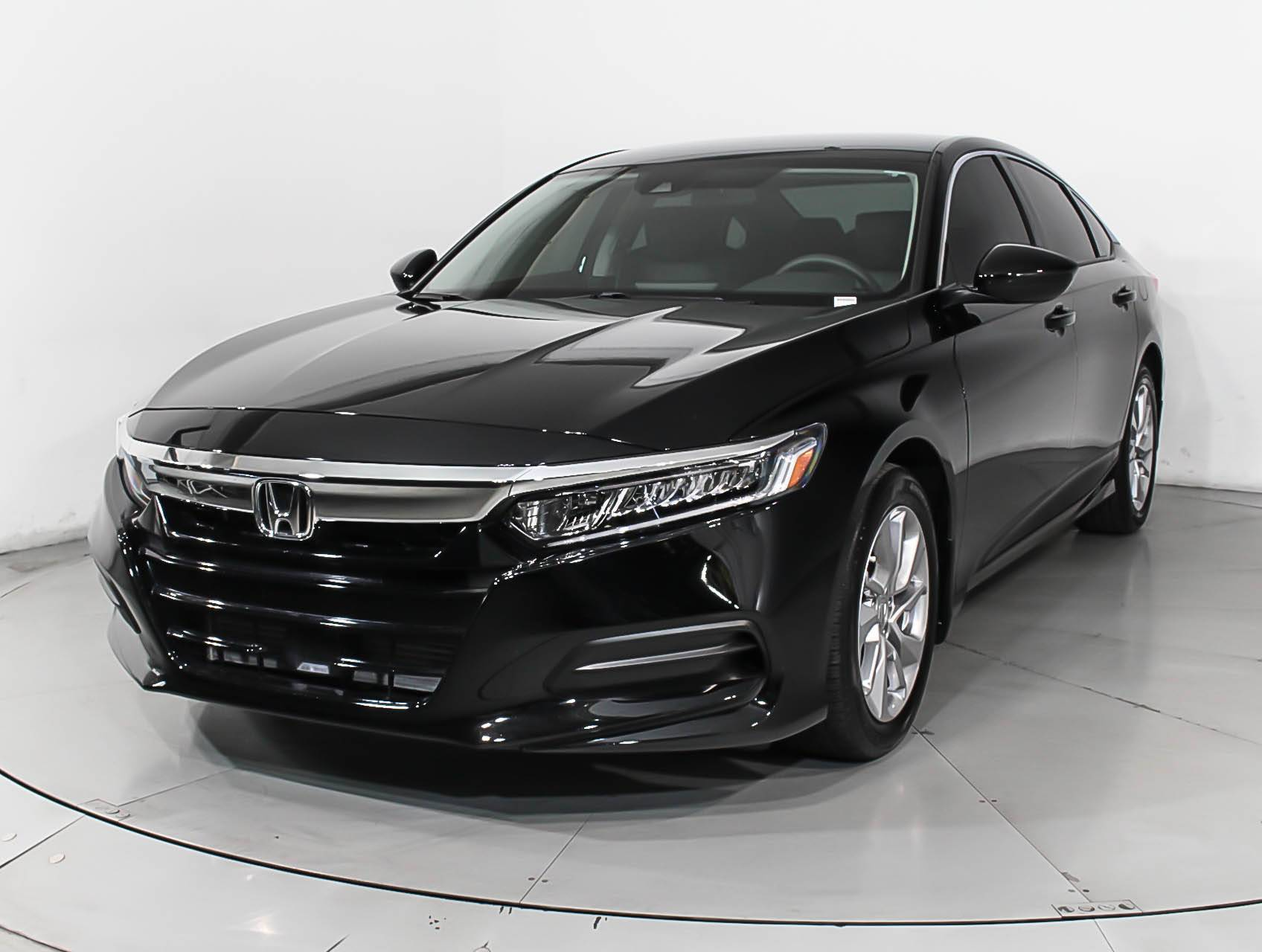 2018 Honda Accord Sedan >> Used 2018 Honda Accord Lx Sedan For Sale In Miami Fl
