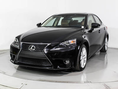 Used LEXUS IS-250 2015 MIAMI