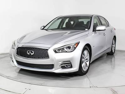 Used INFINITI Q50 2016 HOLLYWOOD 3.0t Premium