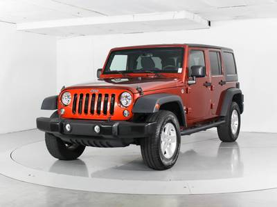 Used JEEP WRANGLER-UNLIMITED 2014 WEST PALM SPORT