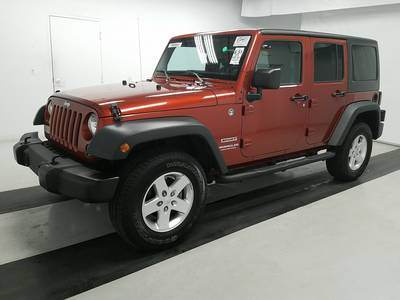 Used JEEP WRANGLER-UNLIMITED 2014 WEST-PALM SPORT