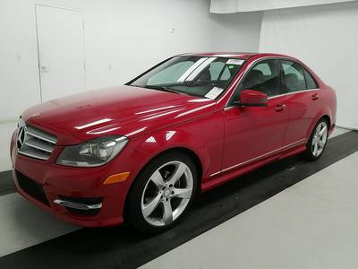 Used MERCEDES-BENZ C-CLASS 2014 WEST-PALM C250