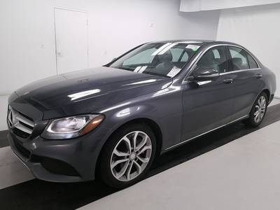 Used MERCEDES-BENZ C-CLASS 2015 WEST-PALM C300