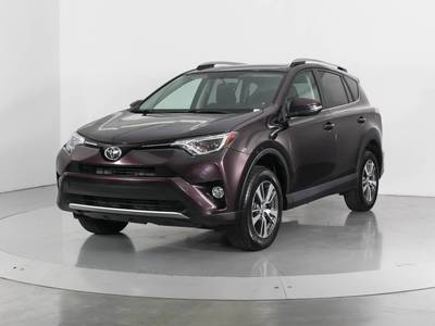 Used TOYOTA RAV4 2016 WEST PALM XLE