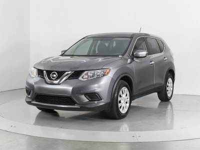Used NISSAN ROGUE 2015 WEST PALM S