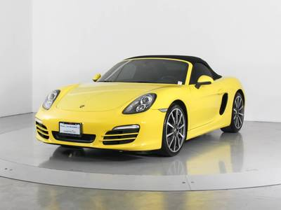 Used PORSCHE BOXSTER 2013 WEST PALM