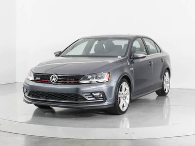 Used VOLKSWAGEN JETTA 2017 WEST PALM Gli