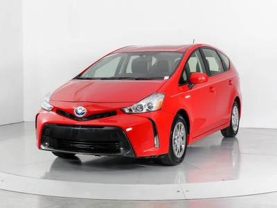 Used TOYOTA PRIUS-V 2015 WEST PALM Four