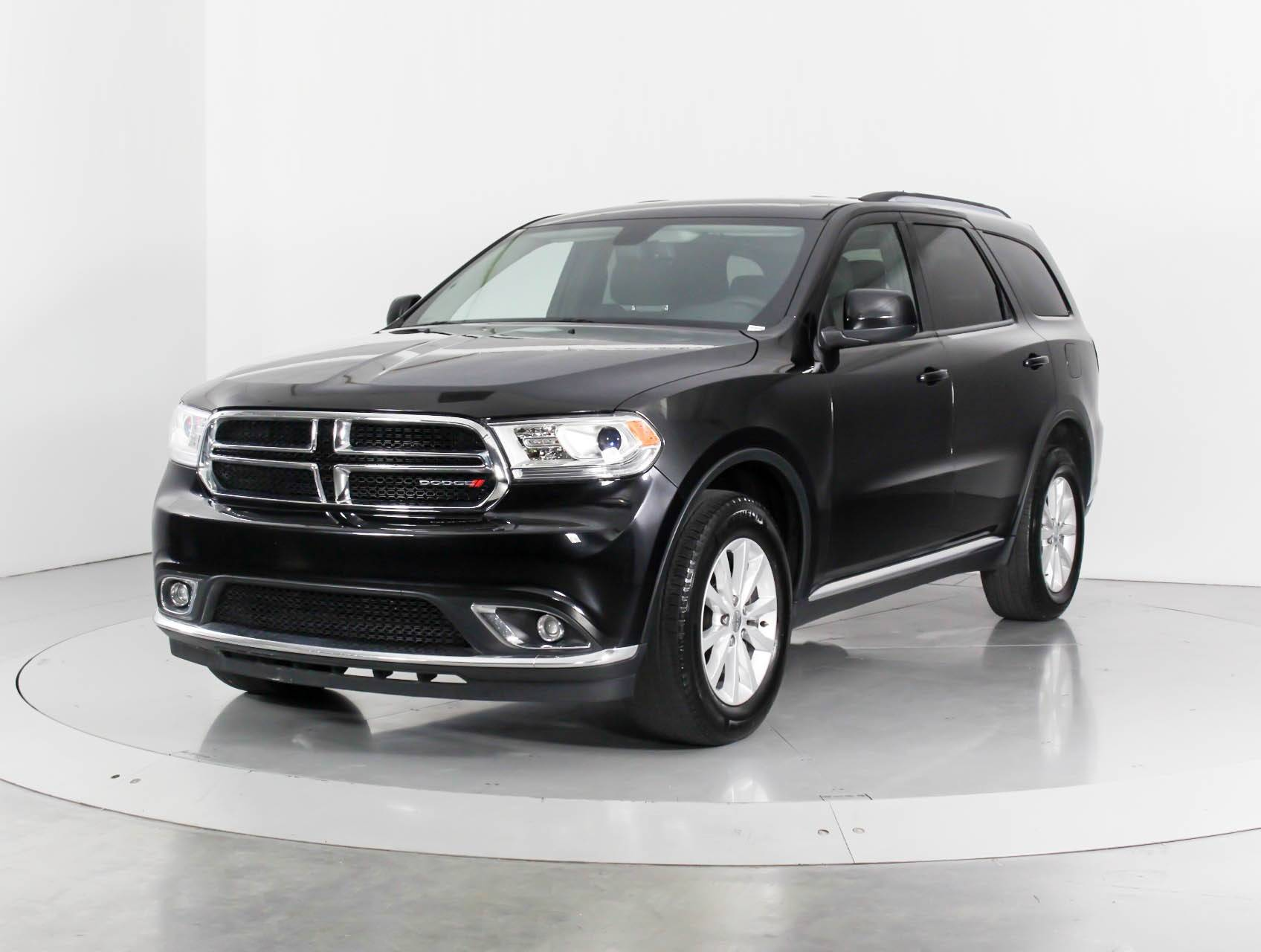 Used 2015 Dodge Durango Sxt Awd Suv For Sale In West Palm