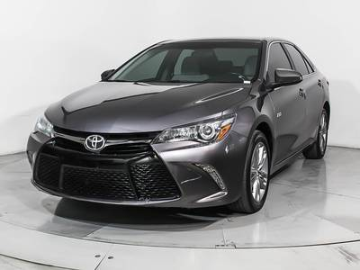 Used TOYOTA CAMRY 2016 HOLLYWOOD Xse