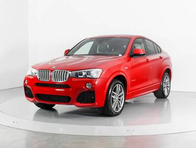 Used BMW X4 2016 MIAMI Xdrive35i Msport