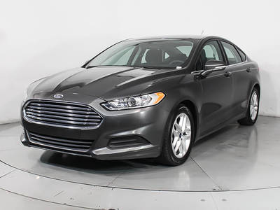 Used FORD FUSION 2016 WEST PALM SE