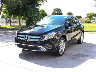 Used MERCEDES-BENZ GLA-CLASS 2015 WEST PALM GLA250 4MATIC