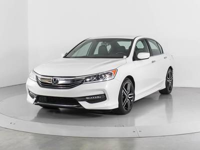 Used HONDA ACCORD 2017 WEST PALM SPORT