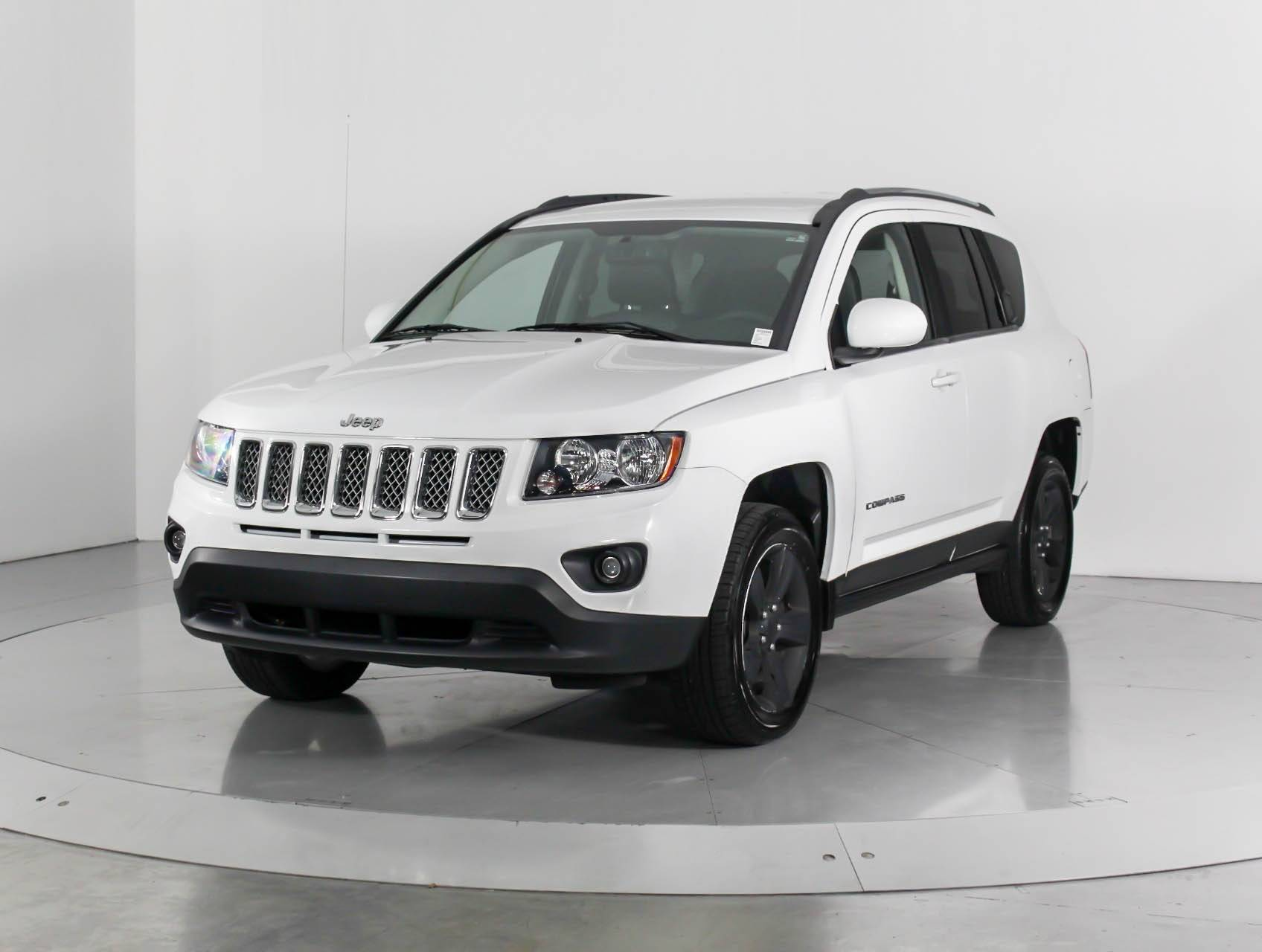 Used 2014 Jeep Compass Latitude Suv For Sale In West Palm Fl