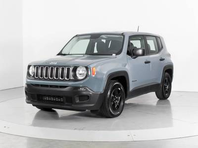 Used JEEP RENEGADE 2017 WEST PALM SPORT
