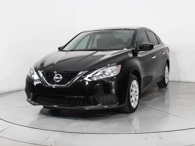 Used NISSAN SENTRA 2017 HOLLYWOOD Sv
