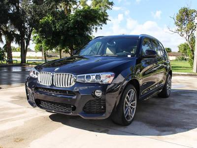 Used BMW X3 2016 WEST PALM Sdrive28i M-Sport