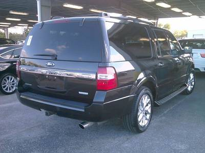 Used FORD EXPEDITION-EL 2015 MIAMI LIMITED