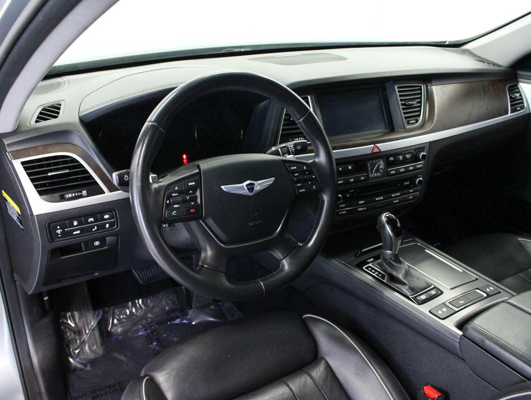 used 2015 hyundai genesis 5 0 sedan for sale in margate fl 99966 florida fine cars. Black Bedroom Furniture Sets. Home Design Ideas