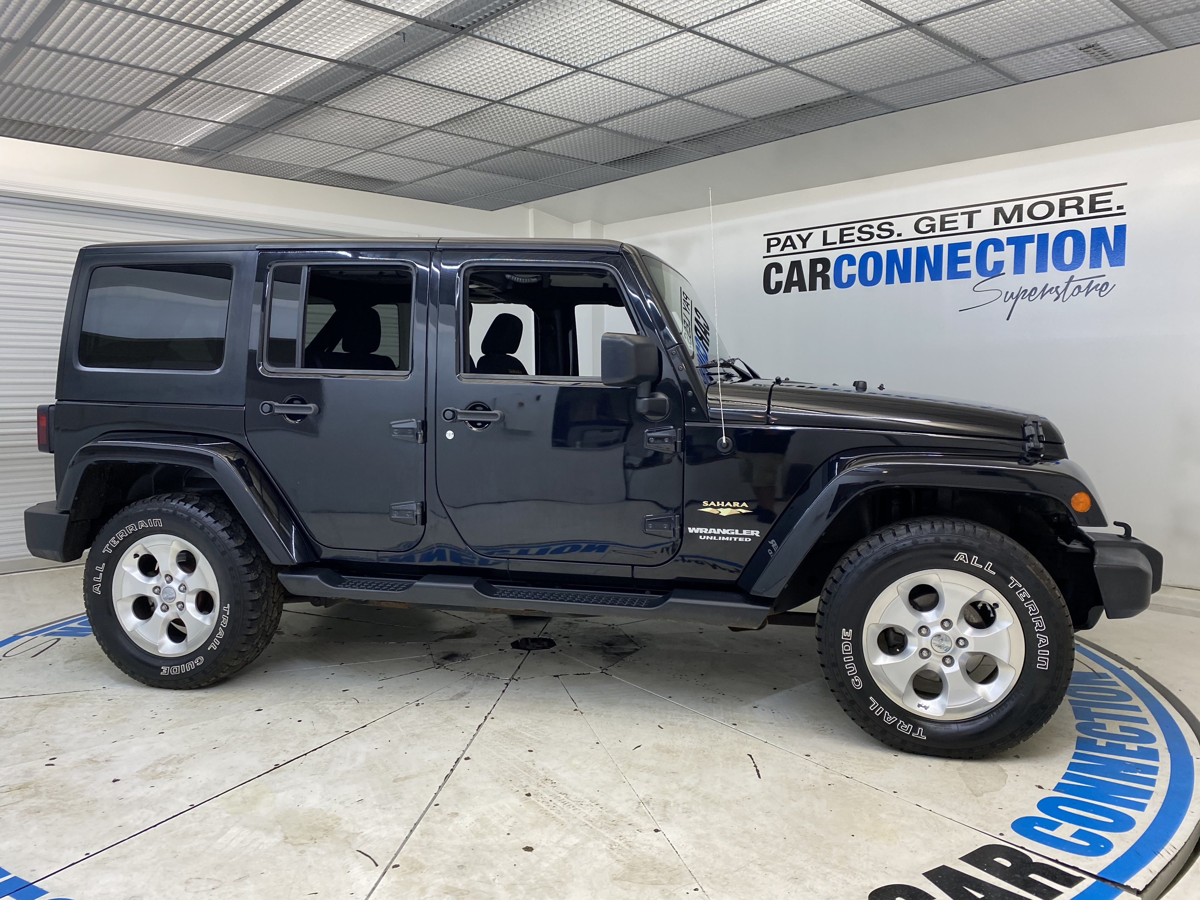 Car Connection Superstore - Used vehicle - SUV JEEP WRANGLER UNLIMITED 2014