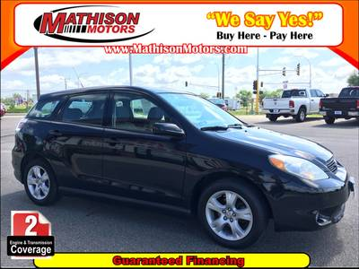 Used Toyota Matrix 2007 MATHISON XR