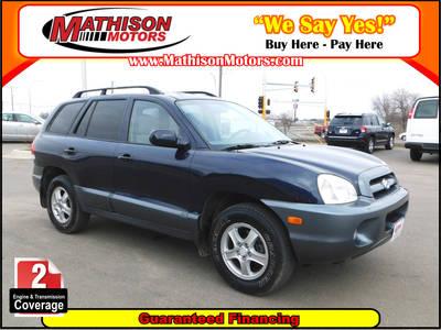 Used Hyundai Santa-Fe 2005 MATHISON Gls