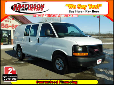 Used GMC SAVANA 2012 MATHISON BASE