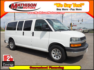 Used CHEVROLET EXPRESS 2012 MATHISON LT