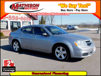 Used DODGE AVENGER 2013 MATHISON SE