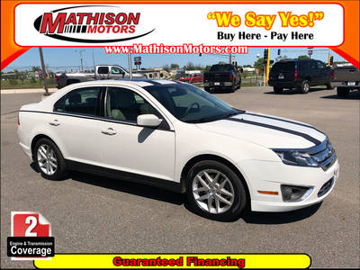 Used FORD FUSION 2012 MATHISON SEL