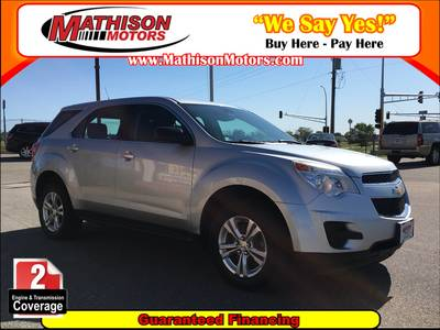 Used CHEVROLET EQUINOX 2010 MATHISON LS